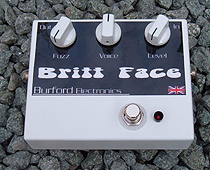 Britt face from Burford Electronics fuzzbox
