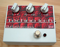 fuzzbox - Tecno Lo-Fi by Burford Electronics, designed by Alan Exley