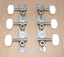 Hofner guitar parts - machine heads for Colorama guitar