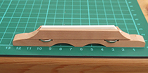 Hofner guitar parts - bridge for flat top acoustic