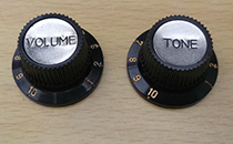 Hofner guitar parts - knobs