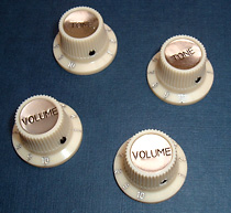 Hofner guitar parts - replacement Hofner knobs