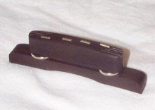 Hofner guitar parts - Hofner ebony bridge